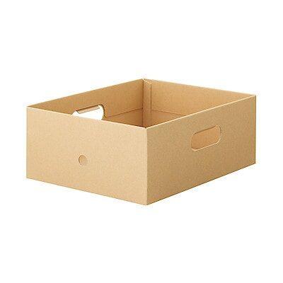 ダンボールファイルボックス   無印良品