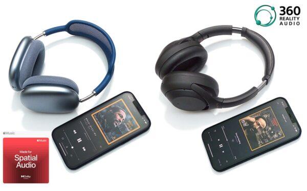 """Appleとソニーの""""立体音楽体験""""を比較!「空間オーディオ」と「360 Reality Audio」はここが違う (1/3) - Phile-web"""